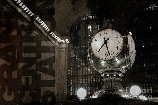 Photograph - Grand Central Station New York City by Art Whitton
