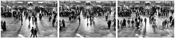 Photograph - Grand Central Terminal Collage by John Rizzuto