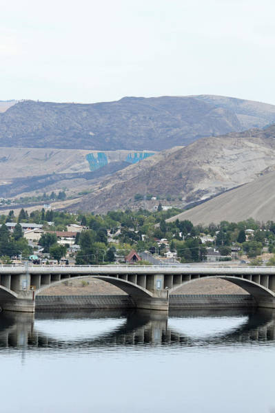 Photograph - Grand Coulee Dam And Coulee City by E Faithe Lester