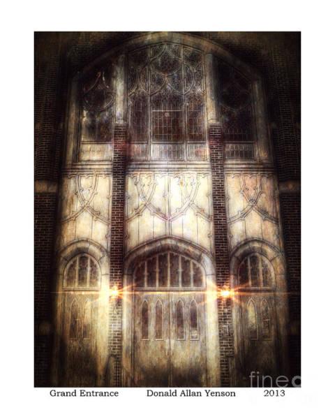 Mount Clemens Photograph - Grand Entrance by Donald Yenson