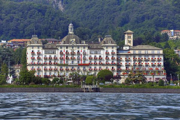 Grand Hotel Photograph - Grand Hotel Des Iles Borromees by Joana Kruse