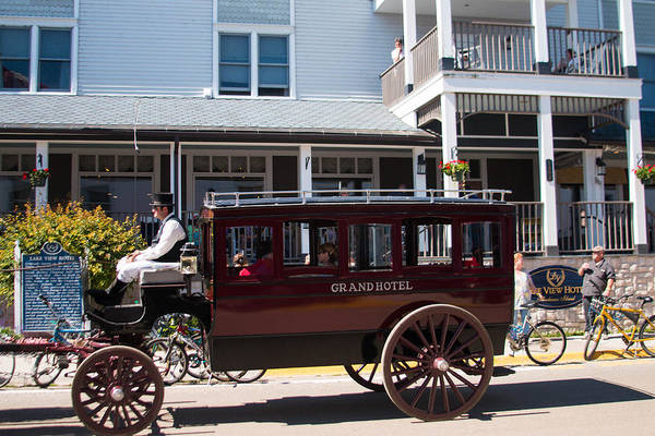 Wall Art - Photograph - Grand Hotel Horse And Buggy by Robert Torkomian