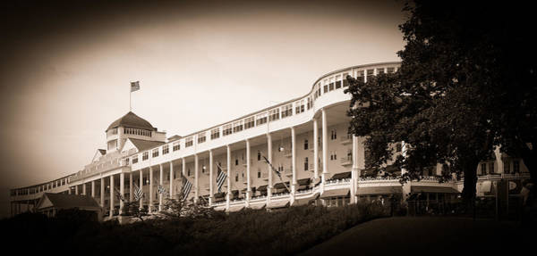 Photograph - Grand Hotel by James Howe