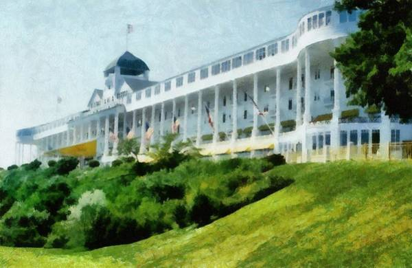 Vacation Time Photograph - Grand Hotel Mackinac Island Ll by Michelle Calkins
