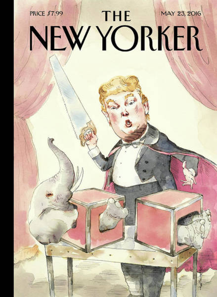 Election 2016 Painting - Grand Illusion by Barry Blitt