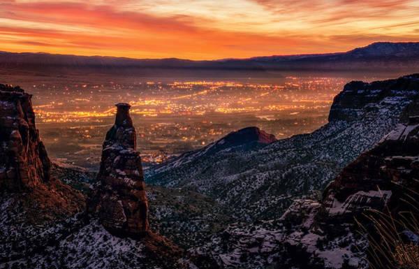 Colorado Sunrise Photograph - Grand Junction by Taylor Franta