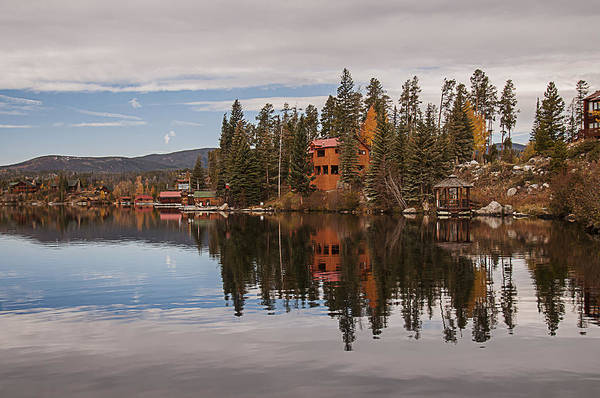 Photograph - Grand Lake Reflection 2 by Lee Kirchhevel