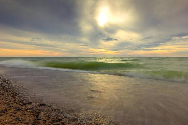 Wall Art - Photograph - Grand Mere Waves by Jackie Novak