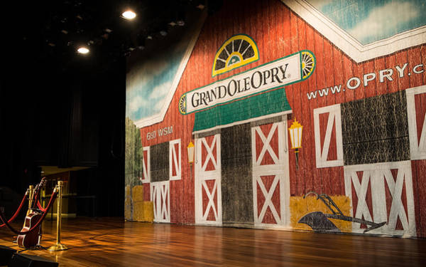 Photograph - Ryman Grand Ole Opry by Glenn DiPaola
