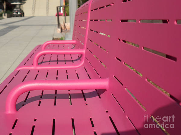 Photograph - Grand Park Pink by HEVi FineArt
