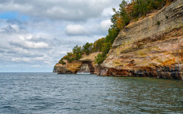 Photograph - Grand Portal At Pictured Rocks by John M Bailey