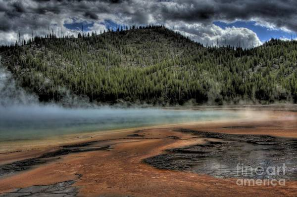 Gulick Photograph - Grand Prismatic Spring by Jeremy Gulick