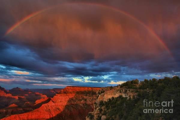 Photograph - Grand Rainbow by Adam Jewell