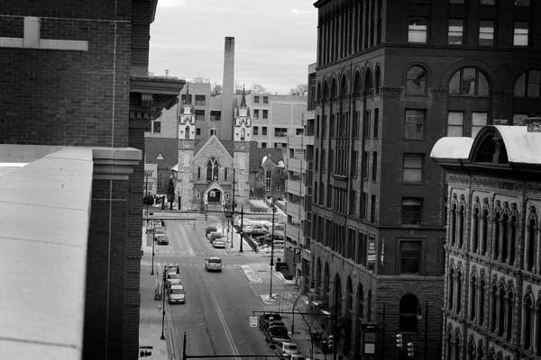 Photograph - Grand Rapids 10 - Black And White by Scott Hovind