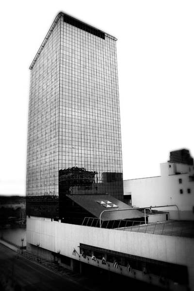 Photograph - Grand Rapids 16 Black And White by Scott Hovind