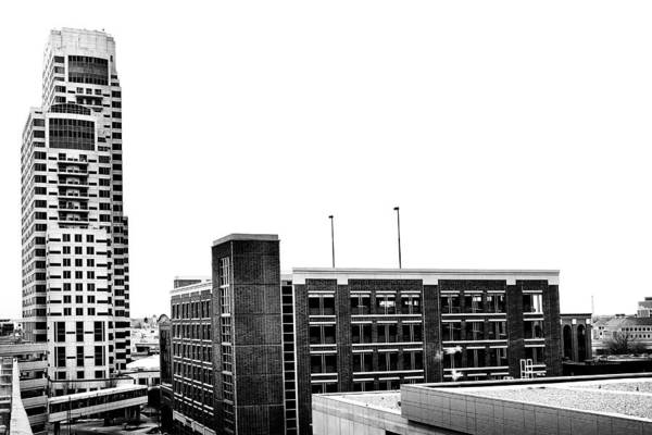 Photograph - Grand Rapids 17 Black And White by Scott Hovind