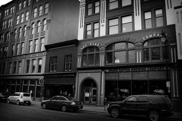 Photograph - Grand Rapids 26 Black And White by Scott Hovind