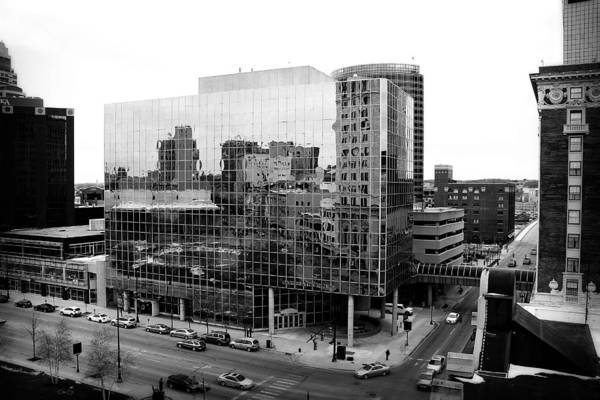 Photograph - Grand Rapids 5 - Black And White by Scott Hovind