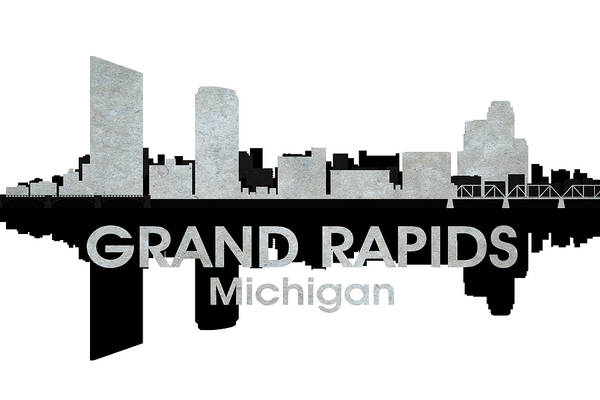 Mixed Media - Grand Rapids Mi 4 by Angelina Tamez