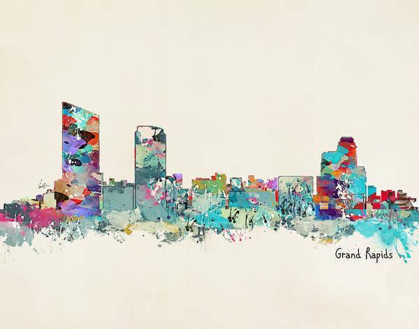Grand Rapids Michigan Art Print
