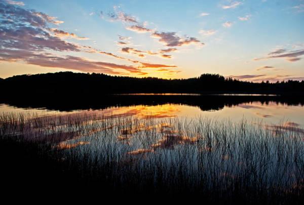 Grand Sable Lake Sunset Art Print