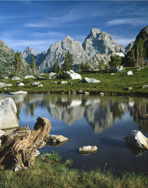 Photograph - 1m9374-grand Teton Reflect by Ed  Cooper Photography