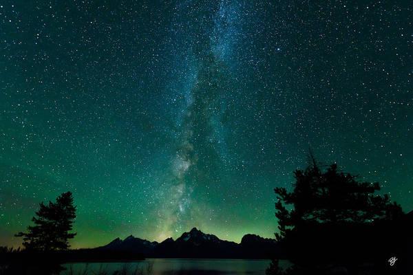 Photograph - Grand Teton Stars by Robert Yone