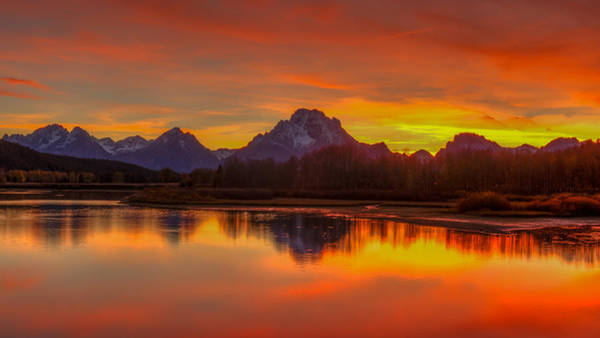 Photograph - Grand Teton Sunset by Brenda Jacobs