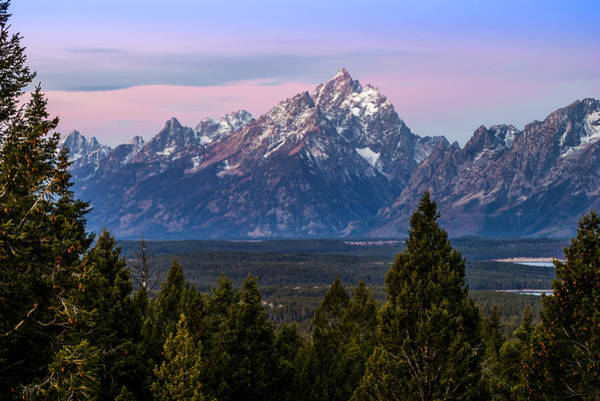 Photograph - Grand Teton by TL  Mair