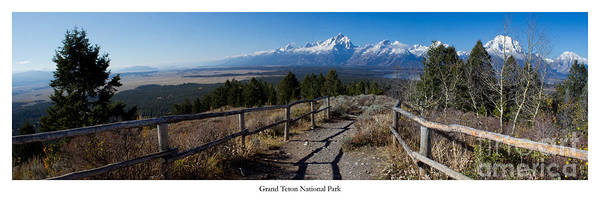 Jackson Hole Photograph - Grand Teton by Twenty Two North Photography