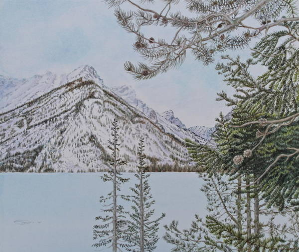 Painting - Grand Teton View by Michele Myers