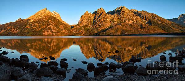 Photograph - Grand Tetons From Jenny Lake by Stuart Gordon