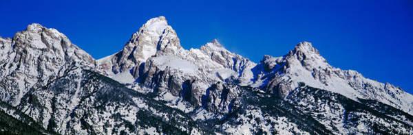Escarpment Photograph - Grand Tetons, Grand Teton National by Panoramic Images
