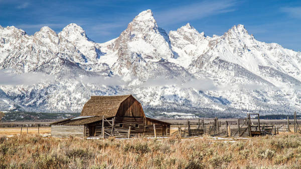 Photograph - Grand Tetons Iconic Barn by Pierre Leclerc Photography