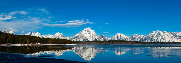 Photograph - Grand Tetons by Kevin  Dietrich