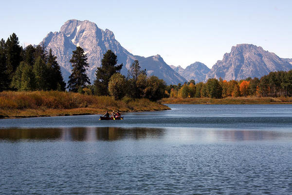 Photograph - Snake River, Grand Tetons, Wyoming by Aidan Moran