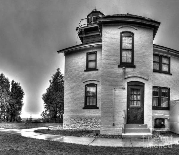 Traverse City Photograph - Grand Traverse Lighthouse by Twenty Two North Photography