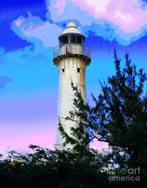 Photograph - Grand Turk Lighhthouse by Larry Oskin