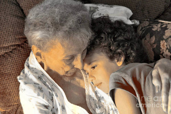 Elder Care Photograph - Grandma by Anjanette Douglas