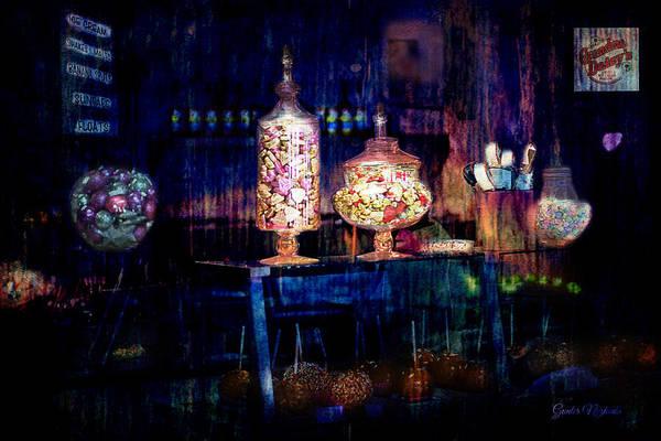 Photograph - Grandma Daisy's Candy Store by Gunter Nezhoda