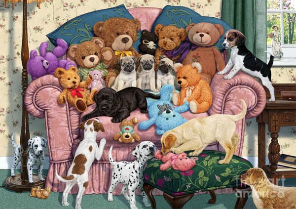 Wall Art - Digital Art - Grandma's Armchair by MGL Meiklejohn Graphics Licensing