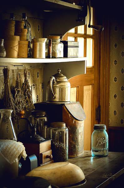 Yesterday Photograph - Grandmas Kitchen by Julie Palencia