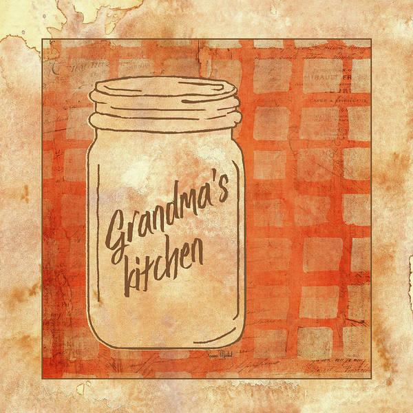 Wall Art - Painting - Grandma's Kitchen by Ramona Murdock