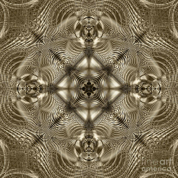 Crochet Digital Art - Grandma's Lace by Klara Acel