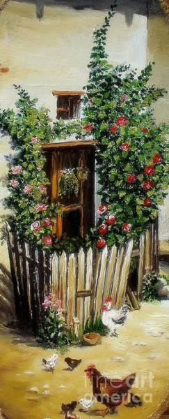 Painting - Grandmother S Home by Sorin Apostolescu