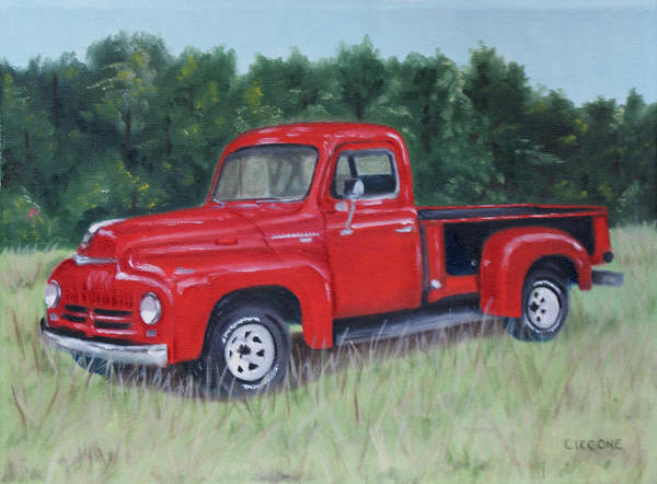Grandpa's Truck Art Print
