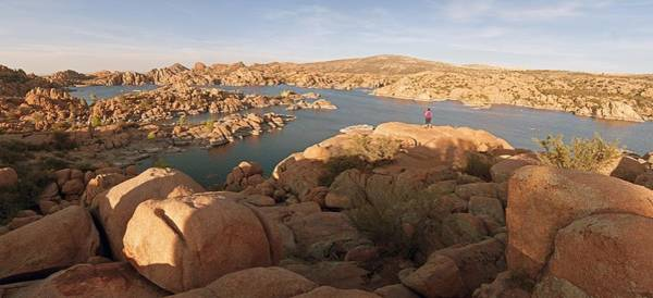 Photograph - Granite Dells Panorama by Tam Ryan