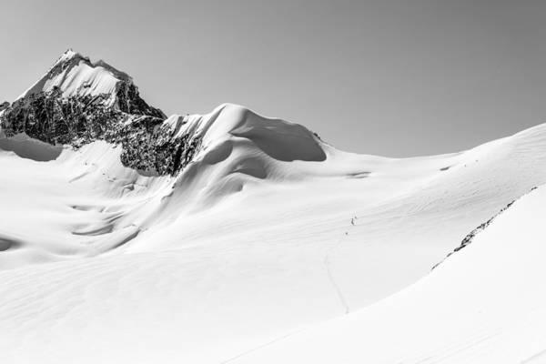Granite Photograph - Granite Glacier by Ian Stotesbury