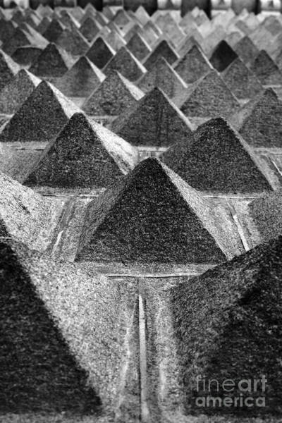 Photograph - Granite Pyramids Casa De Los Picos Segovia by James Brunker