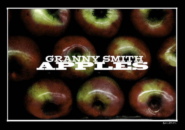 Wall Art - Photograph - Granny Smith Apples by Madeline Ellis
